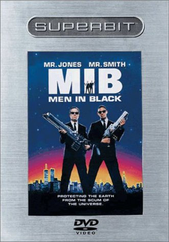 Men in Black (DVD, 2003 Superbit)