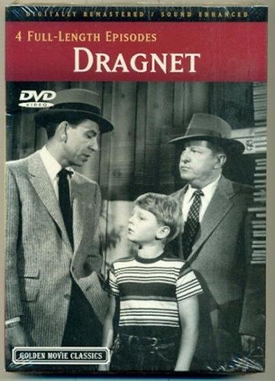 Dragnet (DVD 200) Digitally Remastered/Sound Enchanced-4 Full Length Epi