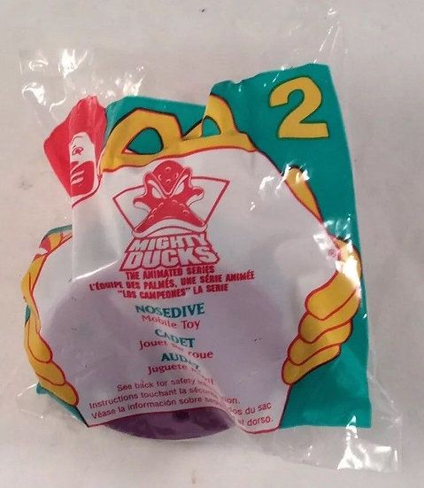 Vintage Nosedive #2 McDonalds Happy Meal Mighty Ducks Mobile Toy 1996