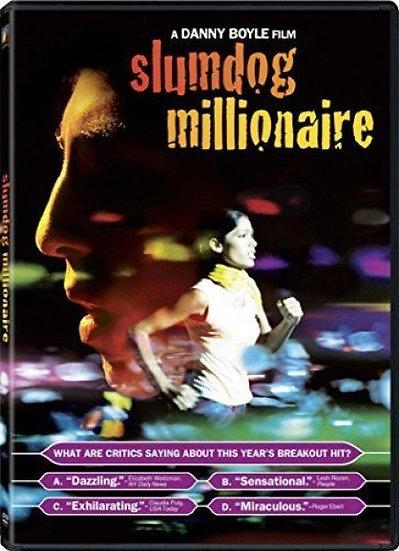NEW Slumdog Millionaire (DVD, 2009, Widescreen) Dev Patel