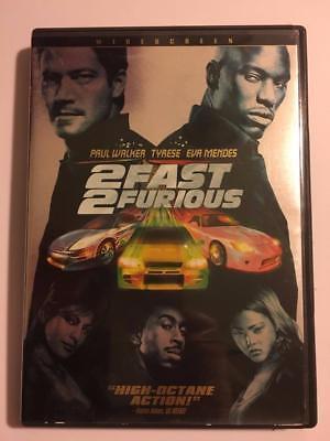 2 FAST 2 FURIOUS High Octane Action (DVD Widescreen)  Paul Walker/Tyrese/John Si