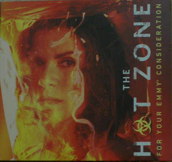 2 FYC 2019 THE HOT ZONE AND Les Moserables DVD  Emmy