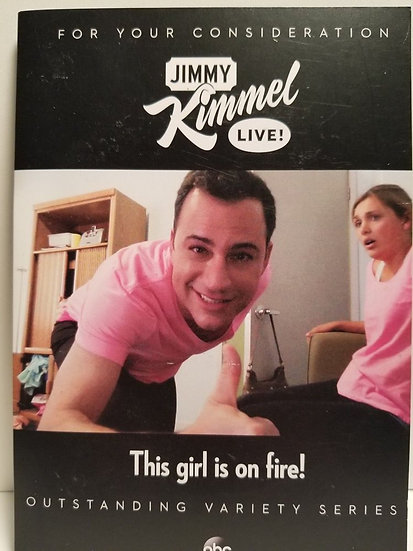 FYC Jimmy Kimmel Live-This girl is on fire!-For Your 2014 Consideration-Outstasn