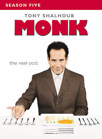 Monk Season 5 & 6 (DVD 4-Disc Sets) New Sealed