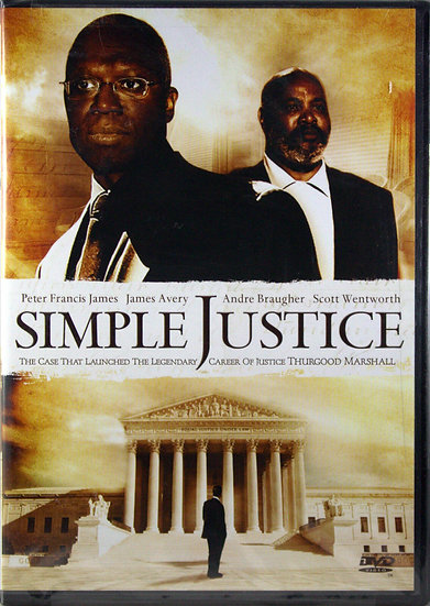Simple Justice (DVD 2007)   Peter Francis/James Avery/Andre Braugher/Sco