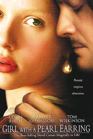 GIRL WITH THE PEARL EARRING Scarlett Johansson Colin Firth