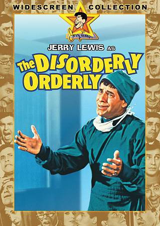 The Disorderly Orderly (DVD, 1964, Widescreen  REGION 1 Jerry Lewis