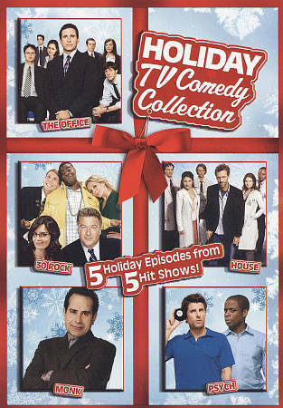 NEW Holiday TV Comedy Collection: Office/30 Rock/House/Monk/Psych (DVD, 2009)