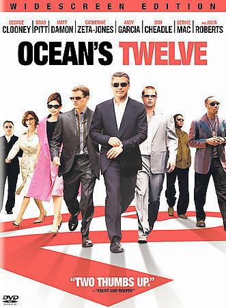 OCEANS TWELVE (DVD) and OCEANS THIRTEEN (DVD)  George Clooney, Brad Pitt