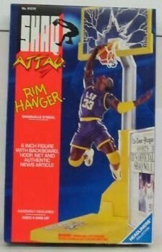 NIB Shaq Attaq Shaquille O'Neal Rim Hanger Figure 1993