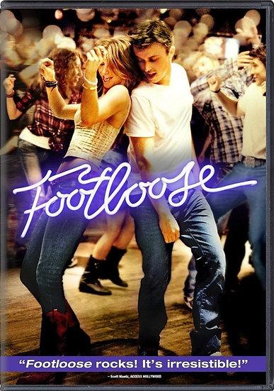 Footloose (DVD 2011 Region 1) Kenny Wormald, Julianne Hough
