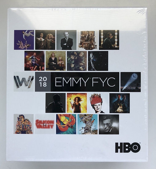 FYC 2018 HBO EMMY DVD Box Set Pressbooks