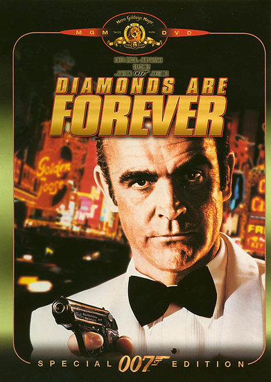 Diamonds Are Forever (Special 007 Edition (DVD) RARE