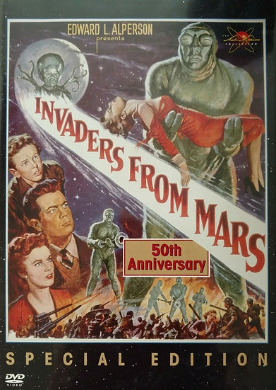 USED: Invaders From Mars (DVD, 2002) Helena Carter/Arthur Franz/Jimmy Hunt