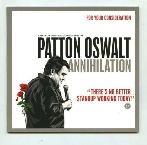 FYC 2018 Patton Oswalt Annihilation For Your Emmy Consideration DVD Netf