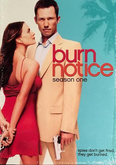 USED-Burn Notice : Season One (DVD, 2008, 4-Disc Set)