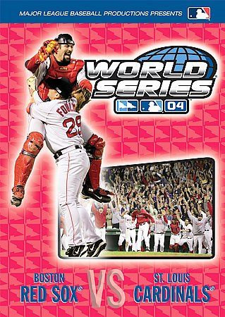 World Series 04 Boston Red Sox Vs Cardinals (DVD 2004)