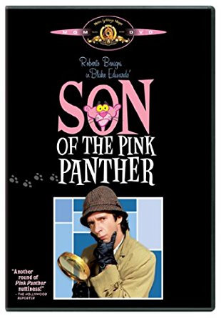 Son of the Pink Panther ( DVD 1993) Roberto Begnigni Herbert Lom Claudia