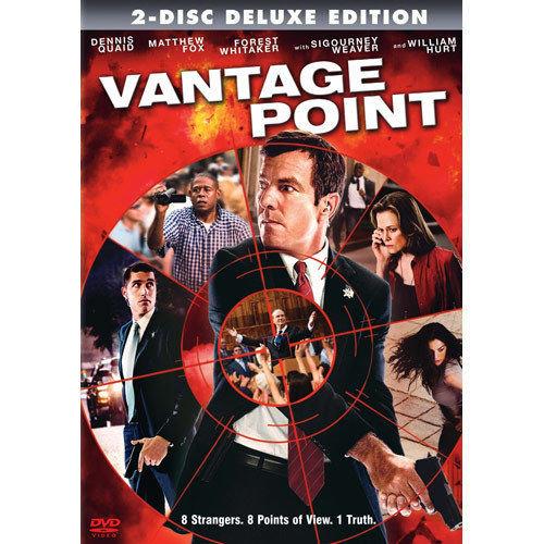 Vantage Point (DVD, 2008, 2-Disc Set) Dennis Quade/Forrest Whittaker/Sigourney W