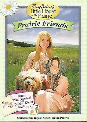 The Girls of Little House On The Prairie: Prairie Friends (DVD, 2009) w/