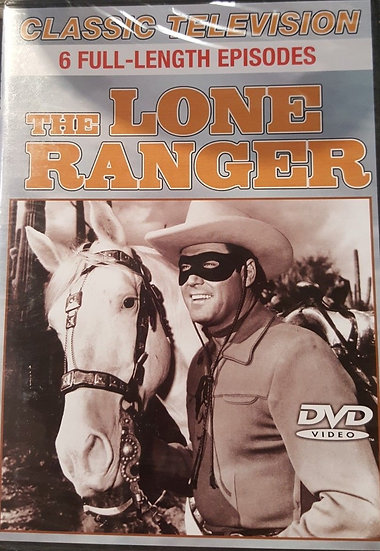 The Lone Ranger (DVD 2007) Classic Television 6 full length episodes