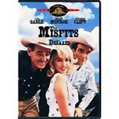 The Misfits (DVD, 2001)  Clark Gable Marilyn Monroe Montgomery Clift