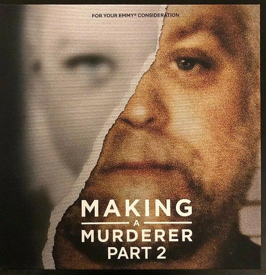 2 FYC 2019  Making a Murderer Part 2 and LOVE DEATH + ROBOTS  DVD NETFLIX