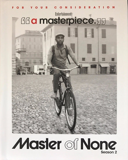 FYC 2017 MASTER OF NONE Complete Season 2 (DVD-2 DISC) EMMY 2017 Netflix
