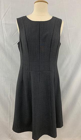 Calvin Klein size 8 Steel Gray Sleevless Women's Dress