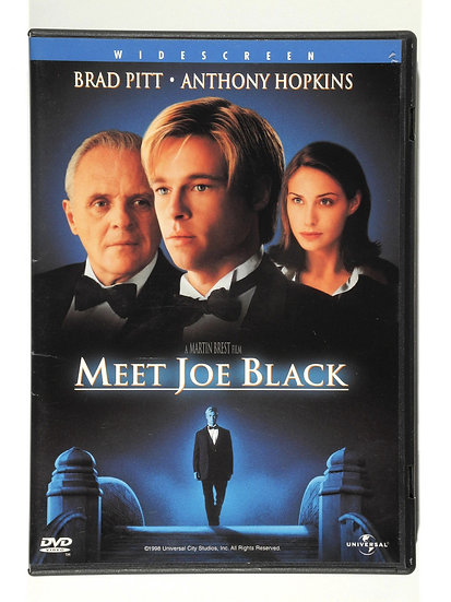 Meet Joe Black (DVD, 1999 Widescreen) Brad Pitt Anthony Hopkins