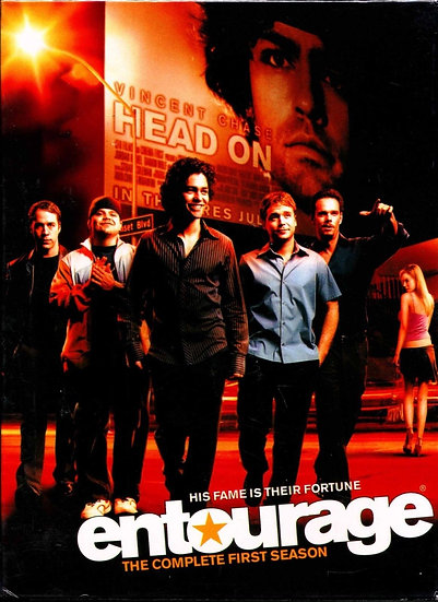 USED-Entourage, The Complete First Season (DVD 2005-2 disc)
