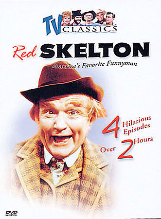 USED- TV Classics - Red Skelton: Vol. 1 (DVD, 2003, black & white)