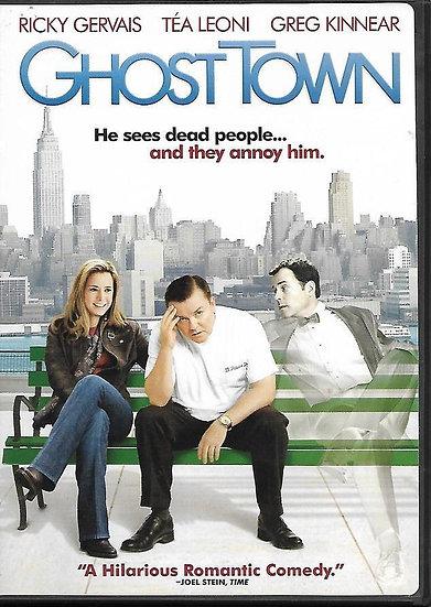 Ghost Town (DVD, 2008 Widescrean) Greg Kinnear, Téa Leoni, Ricky Gervais
