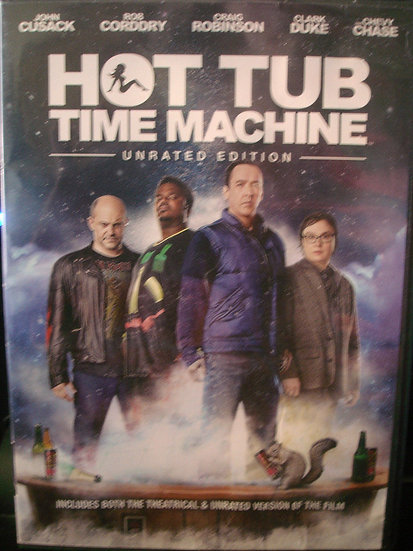 HOT TUB TIME MACHINE (DVD 2014 Widescreen) UNRATED EDITION - MGM 90th An