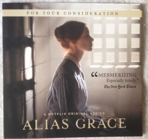 3 FYC 2018 Alias Grace and Seeing Allred -LADY GAGA FIVE FOOT TWO-DVD- Netfli