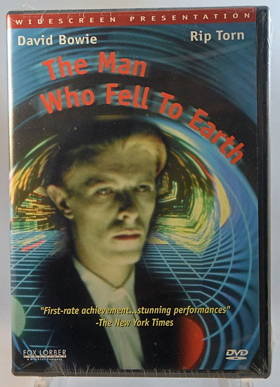 The Man Who Fell To Earth 1976 (DVD, 1998) Widescreen Prsentation  David Bowie/R