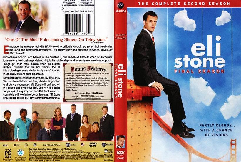 NEW Eli Stone The Complete 2nd Season Final