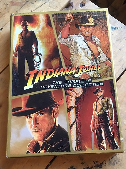 USED-Indiana Jones The Complete Adventure Collection (DVD, Widescreen, 4
