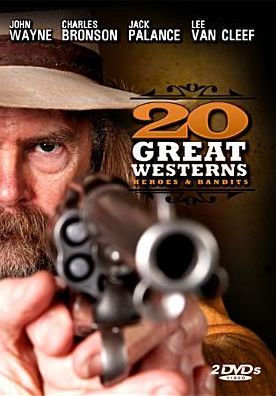 20 Great Westerns: Heroes Bandits (DVD, 2008, 2-Disc Set - doublesided d