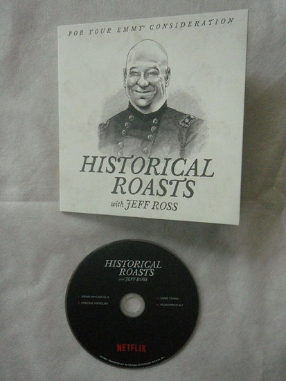 2 FYC 2019 Historical Roasts and Hannah Gadsby Nanette DVD NETFLIX