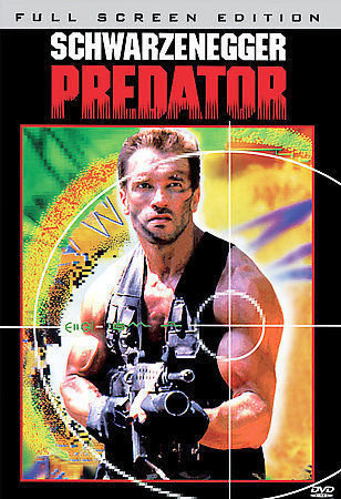 Predator DVD Arnold Schwarzenegger, Carl Weathers, Kevin Peter Hall