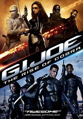 G.I. Joe: The Rise of Cobra (DVD, 2009 Region 1) GI JOE Channing Tatum, Dennis Q