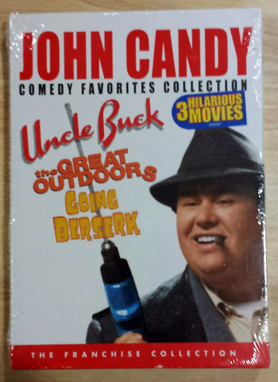John Candy: Comedy Favorites Collection (DVD, 2007, 2-Disc Set)