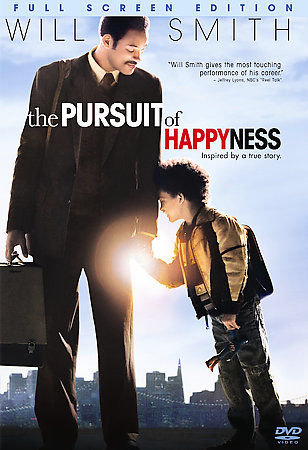 The Pursuit of Happyness (DVD, 2007,Fullscreen Edition) Will Smith, Jade