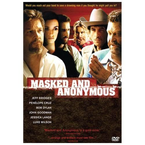 Masked and Anonymous - (DVD, 2003) Penelope Cruz, Jeff Bridges, Bob Dyla