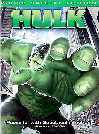 Hulk (DVD, 2003, 2-Disc Set, Full Screen) Eric Bana, Jennifer Connelly a