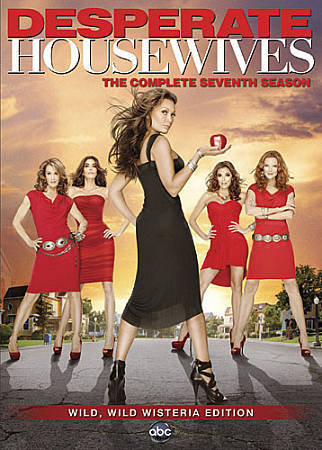 USED-Desperate Housewives ~ The Complete 7th Seventh Season (DVD 5-Disc)