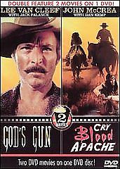 God's Gun and Cry Blood Apache (DVD 2003) Double Feature