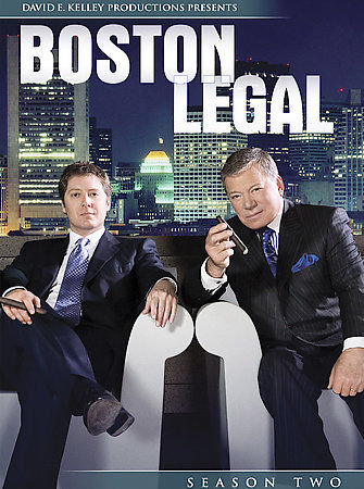 Boston Legal - Season 2 (DVD, NEW, 2006, 7-Disc) James Spader, William Shatner