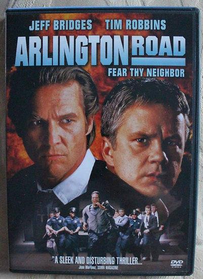 Arlington Road Fear Thy Neighbor (DVD 2001) Jeff Bridges/Tim Robbins